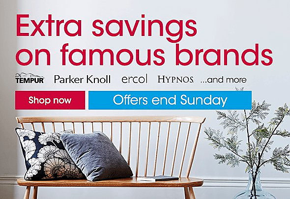 Furniture Village brands sale