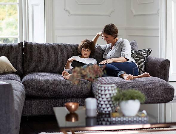 Furniture Village fabric sofas