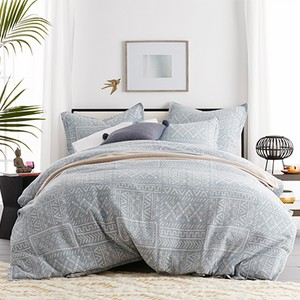 Cstudio Home Tribal Patch Cotton Duvet Cover Set