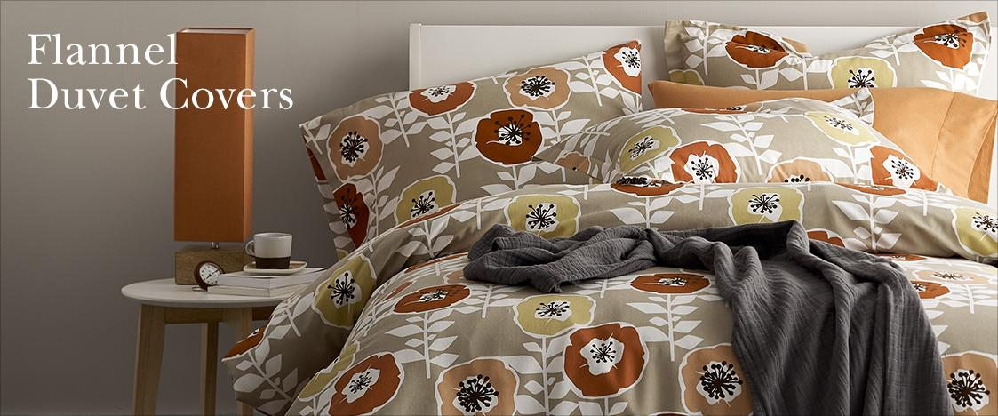 Flannel Duvet Covers