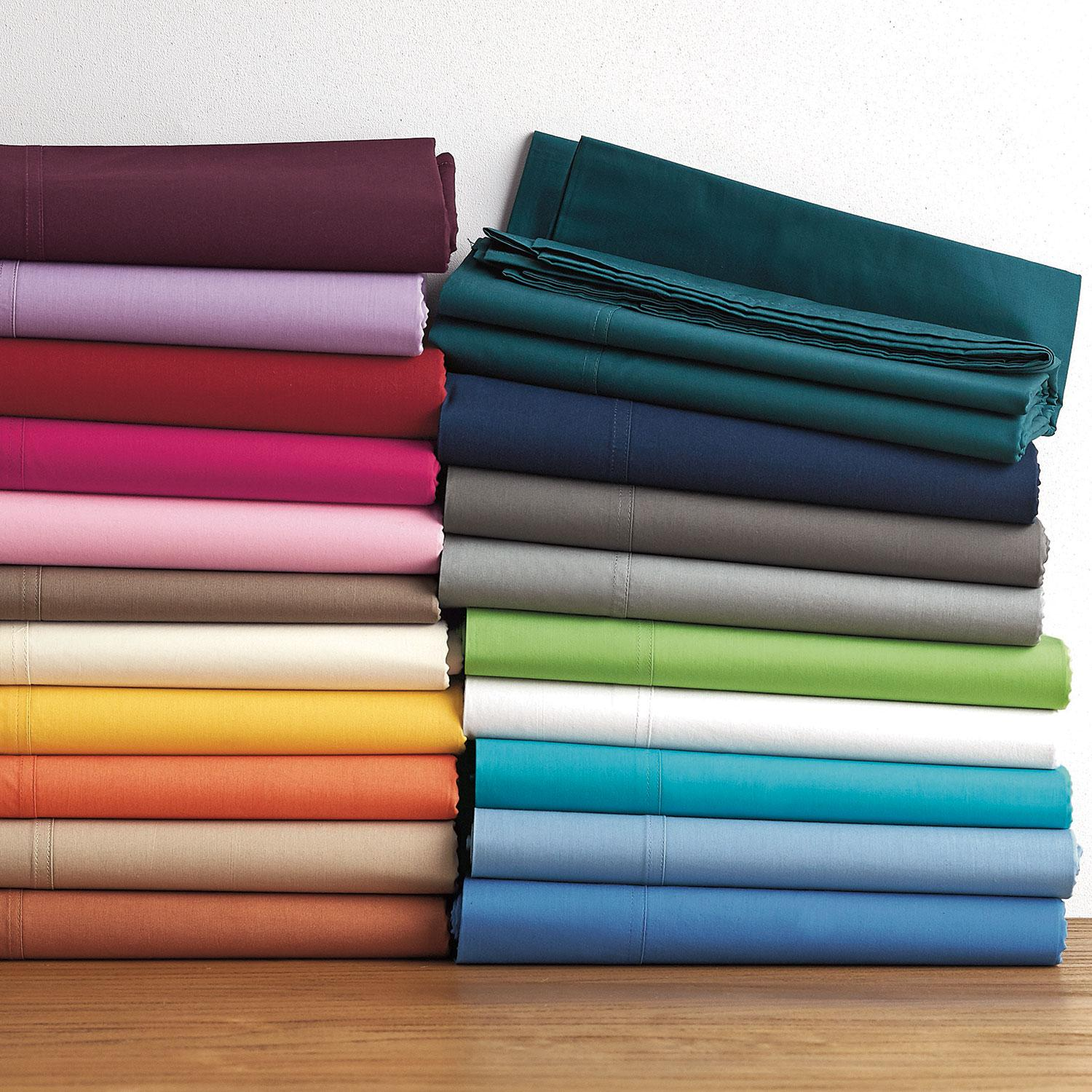 Classic Percale Solid Pillowcases