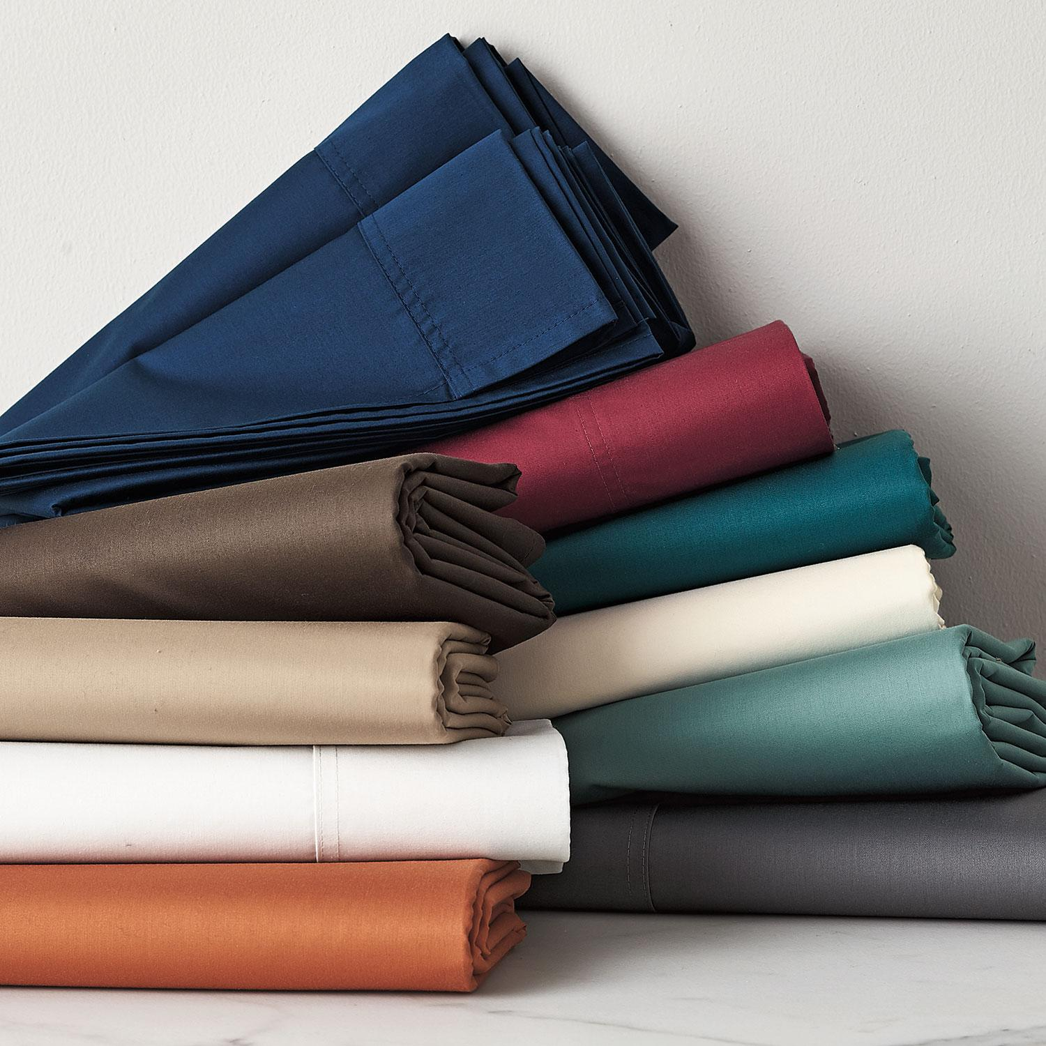 Wrinkle-Free 300-Thread Count Sateen Pillowcases