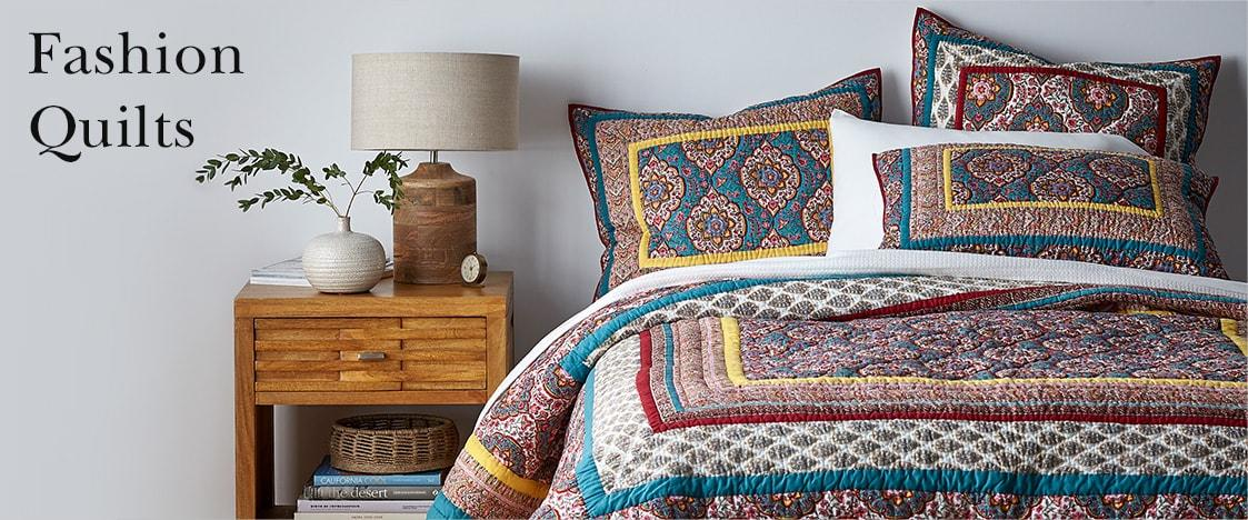 Fashion Quilts | The Company Store : best way to store quilts - Adamdwight.com