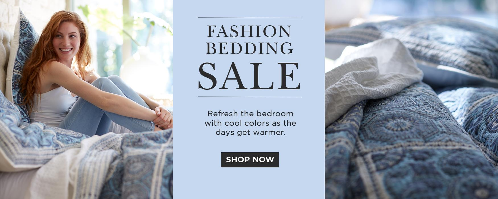 Shop Fashion Bedding Sale