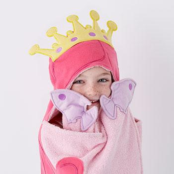 Character Hooded Towel – Mermaid
