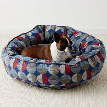 Round Dog Bed Cover - Spot