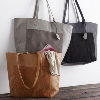 Leather Tote Collection – Shoulder Tote
