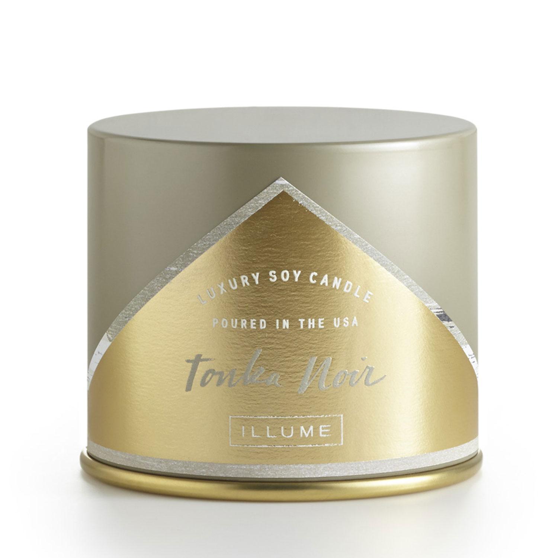 Illume%AE Tonka Noir Large Vanity Tin Candle