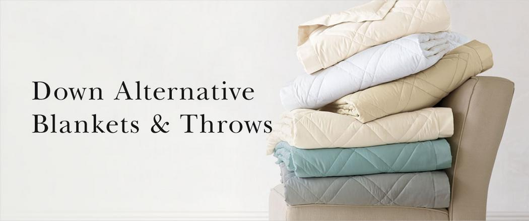 Down Alternative Blankets & Throws