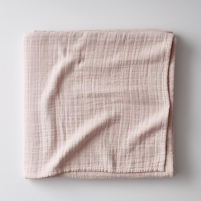 Gossamer Cotton Blanket Pink, Full