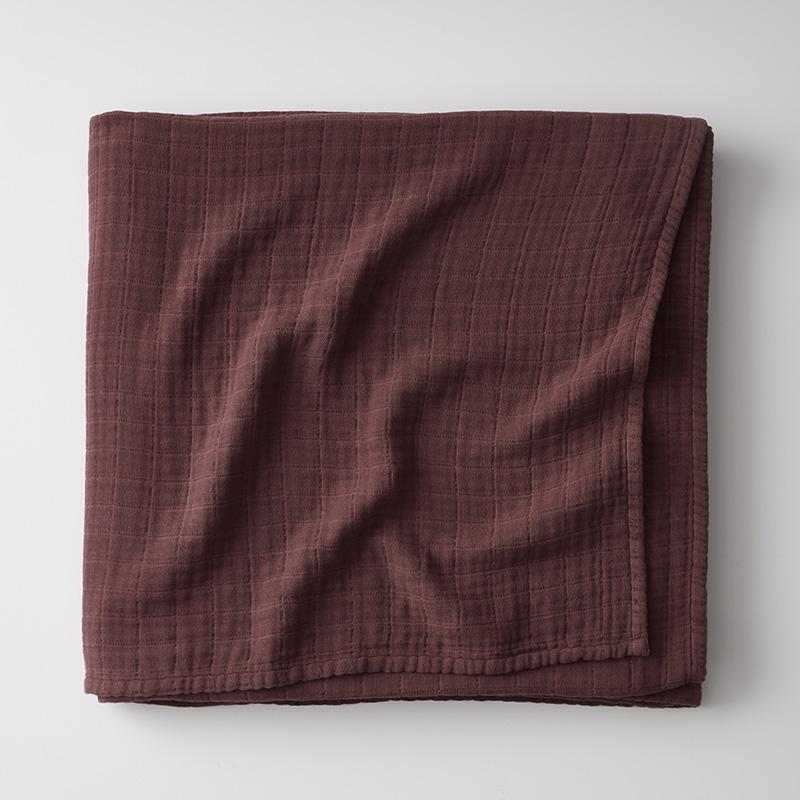 Gossamer Cotton Blanket Plum Purple, Twin