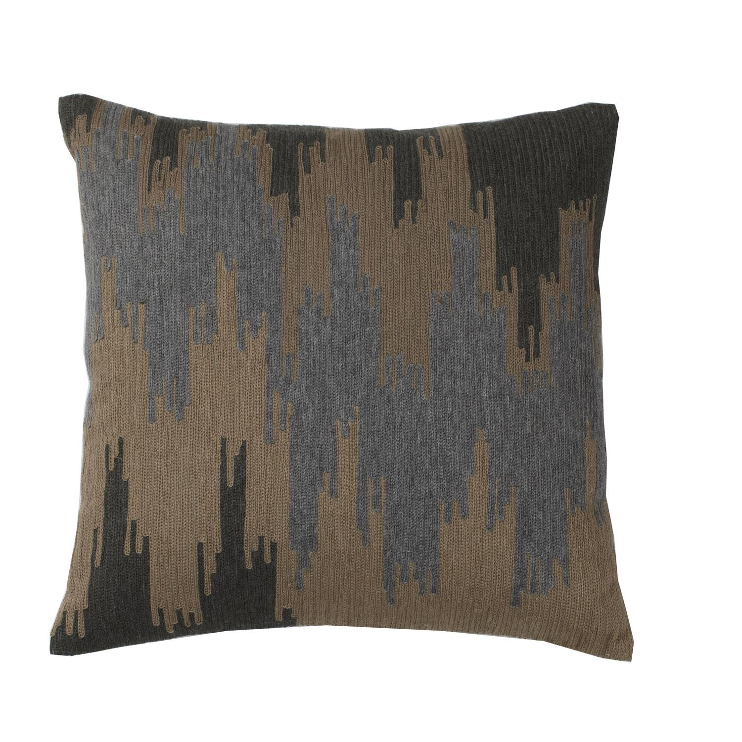 Throw Pillow Covers 18x18 Supplies : Embroidered Pillow Cover Ikat 18X18 Ikat Type Od60-18X18-Ikat U.S. Supply : USAFurnishingsDepot.com