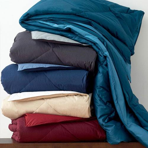 St. Tropez® Reversible Solid Down & TCS® Down-Free™ Comforter