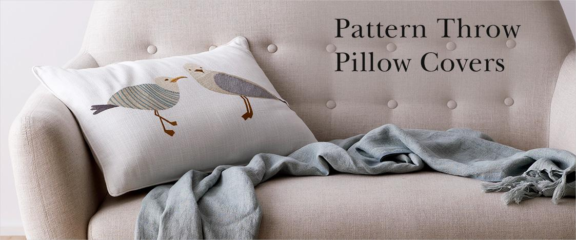 Pattern Throw Pillow Covers