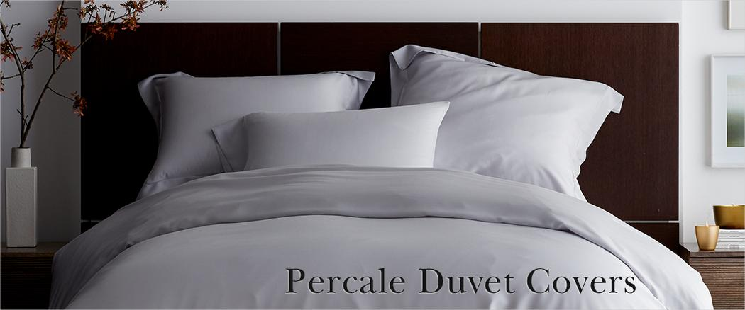 Percale Duvet Covers