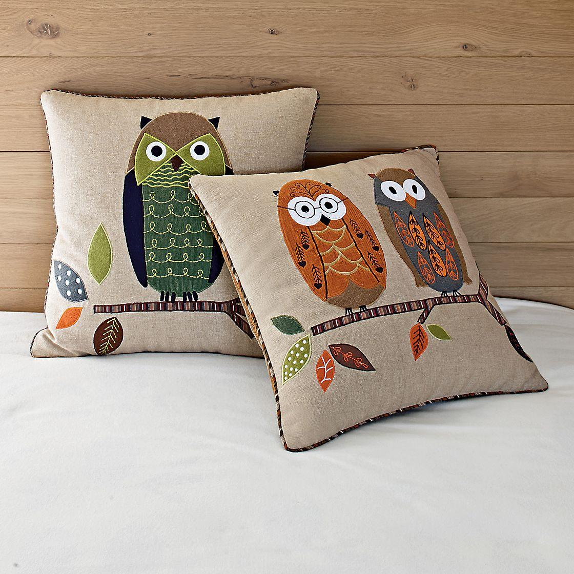On a Limb Pillow Covers