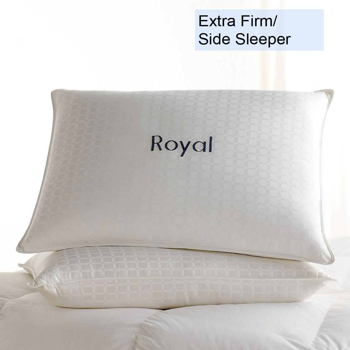 Legends® Luxury Royal Hungarian White Goose Down Extra Firm Density Pillow