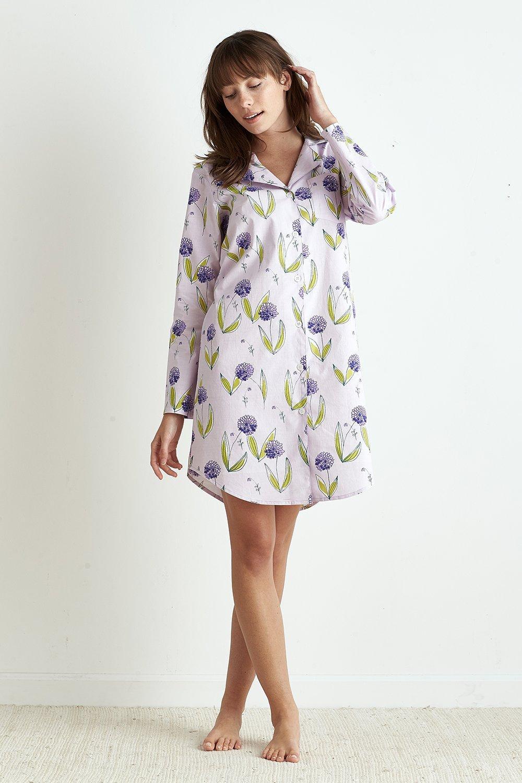 Poplin Pajamas - Flowers