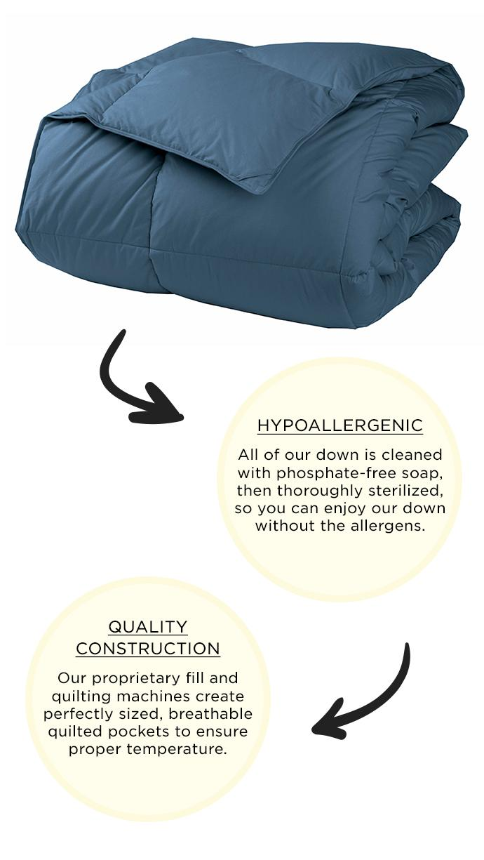 More Info about the LaCrosse Comforter