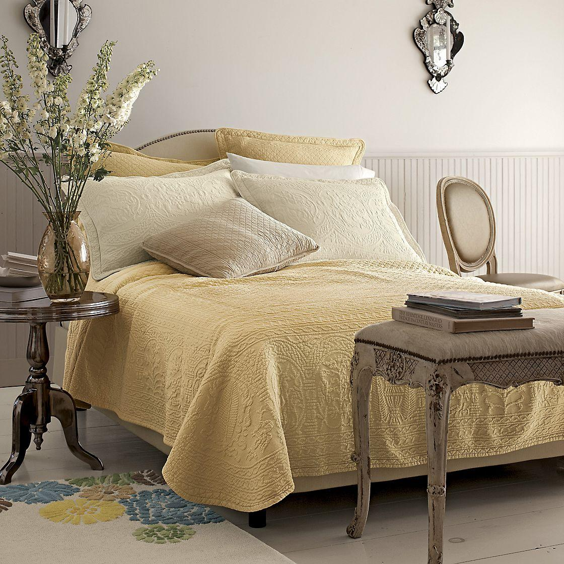 William and Mary Matelass Coverlet