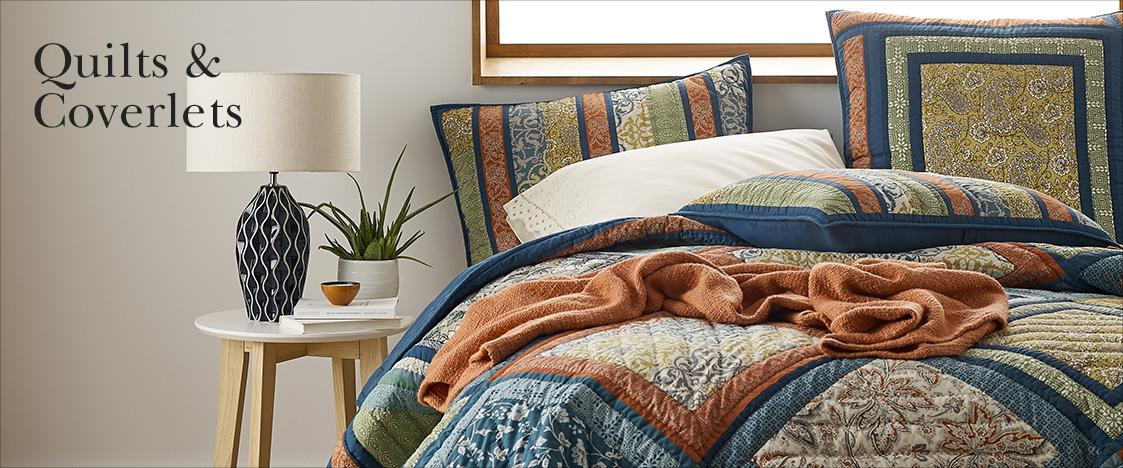 Quilts & Coverlets | The Company Store : coverlet vs quilt - Adamdwight.com
