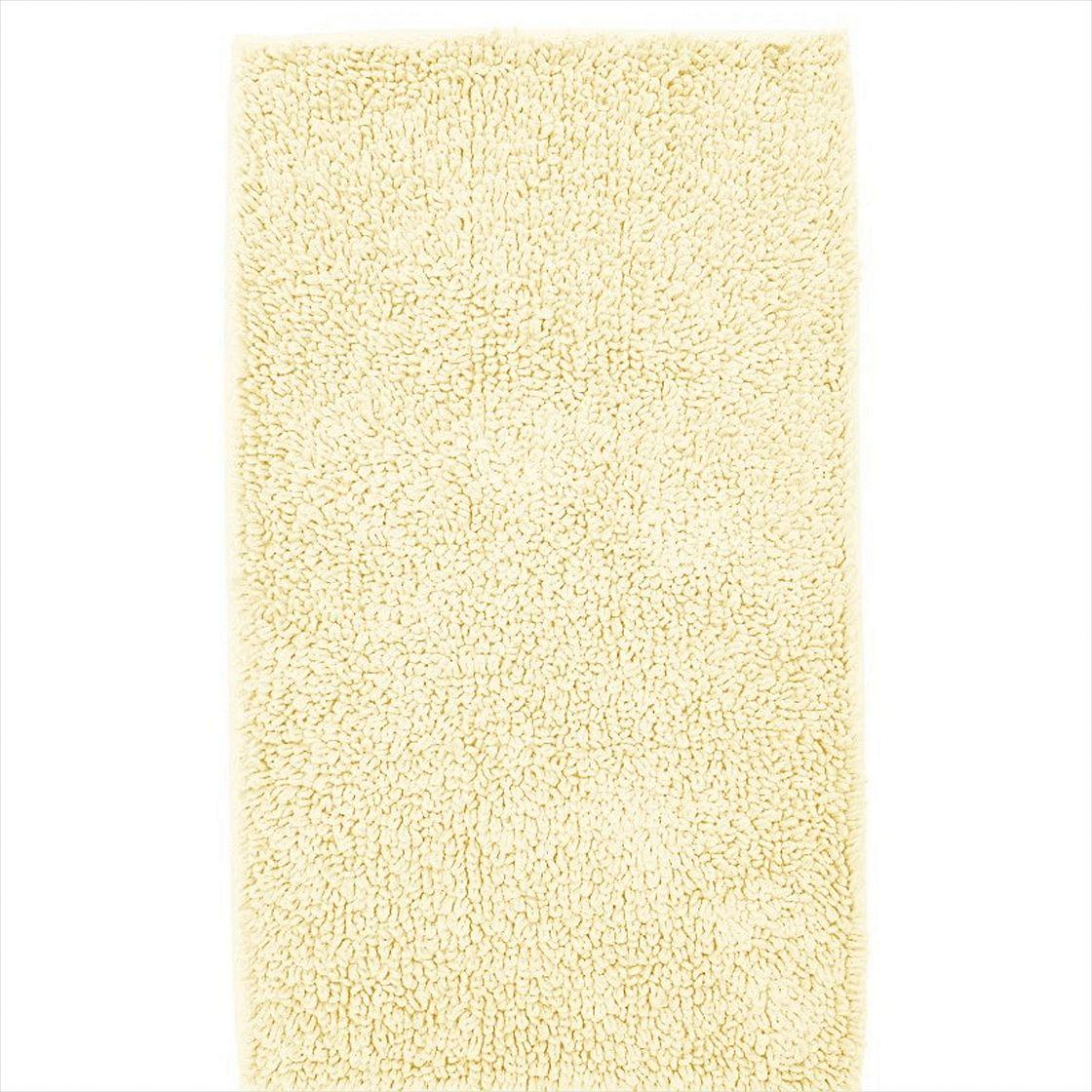 Company Cotton Chunky Loop Bath Rug Square Ivory U.S. Supply Amazing Design