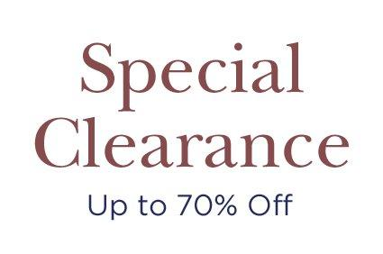 Special Clearance