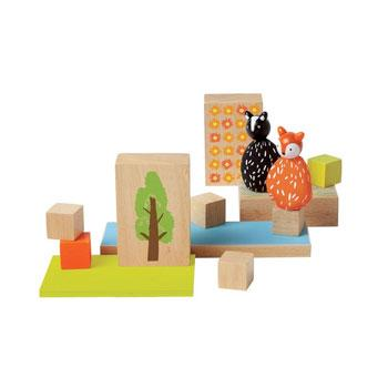 Manhattan Toy MiO Woodland + 2 Animals Set