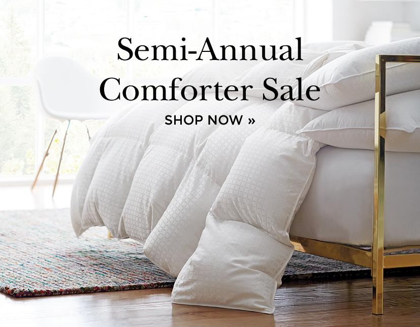 Shop Semi Annual Comforter Sale