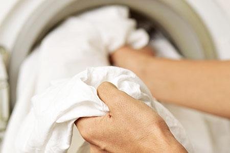 Washing a Comforter