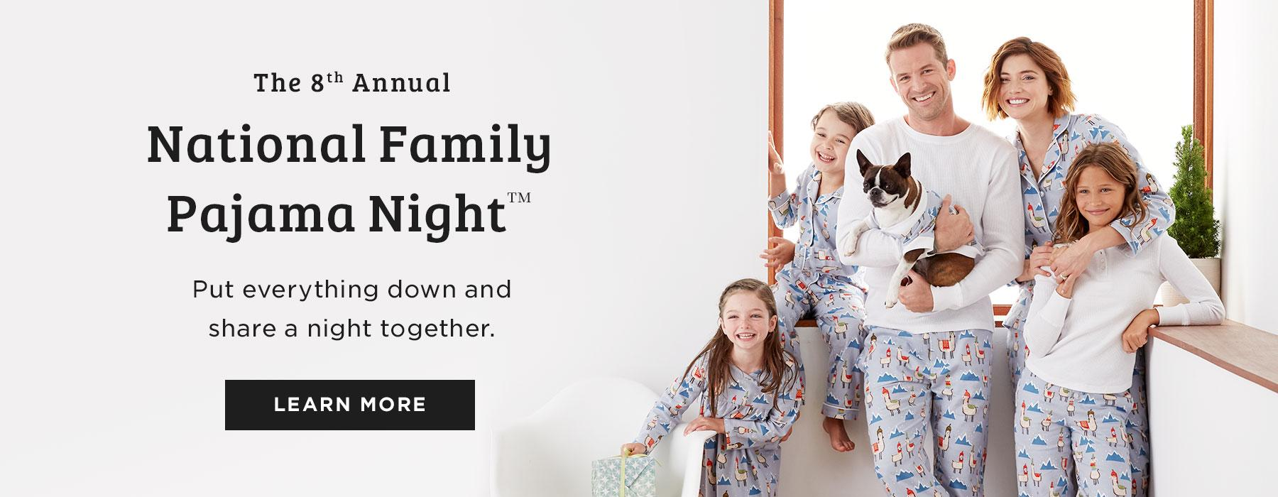 National Family Pajama Night