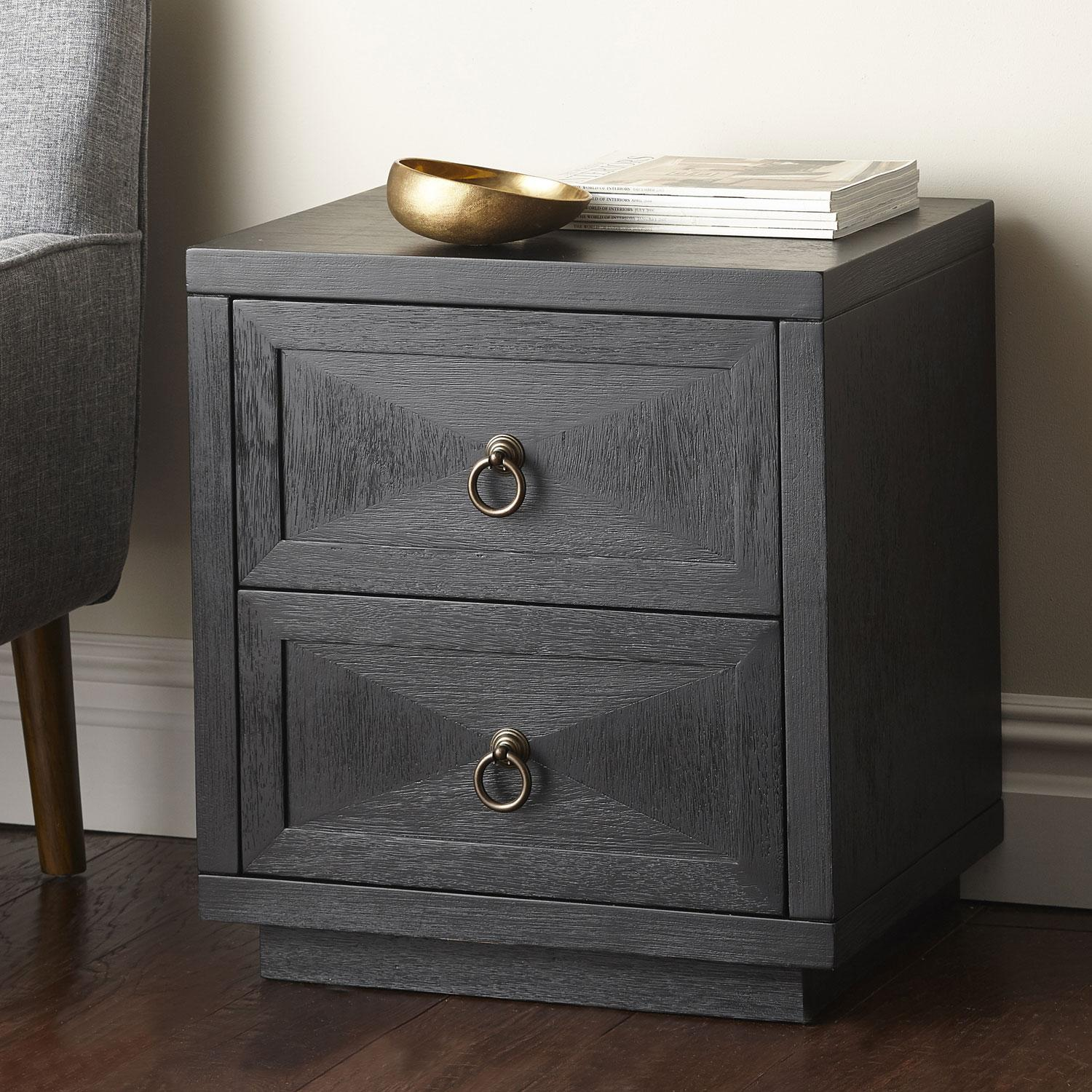 Fairmont Collection - 2-Drawer Side Table