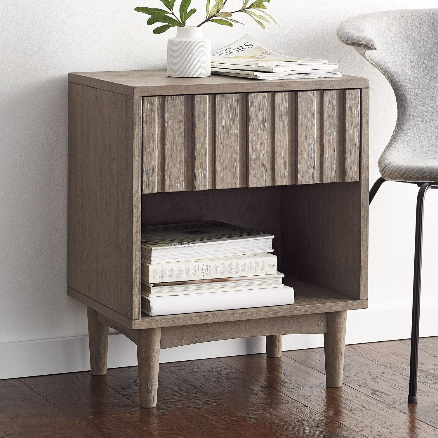 Linear Collection - Nightstand With Drawer