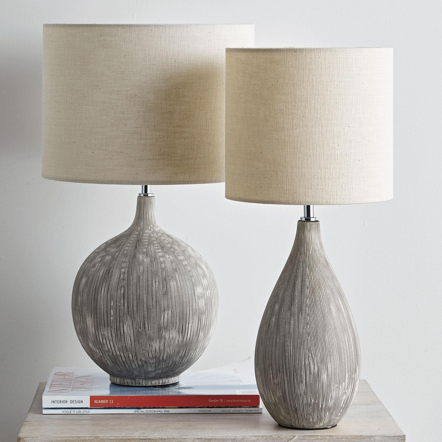 Pacific Grove Table Lamp Oblong Earth U.S. Supply