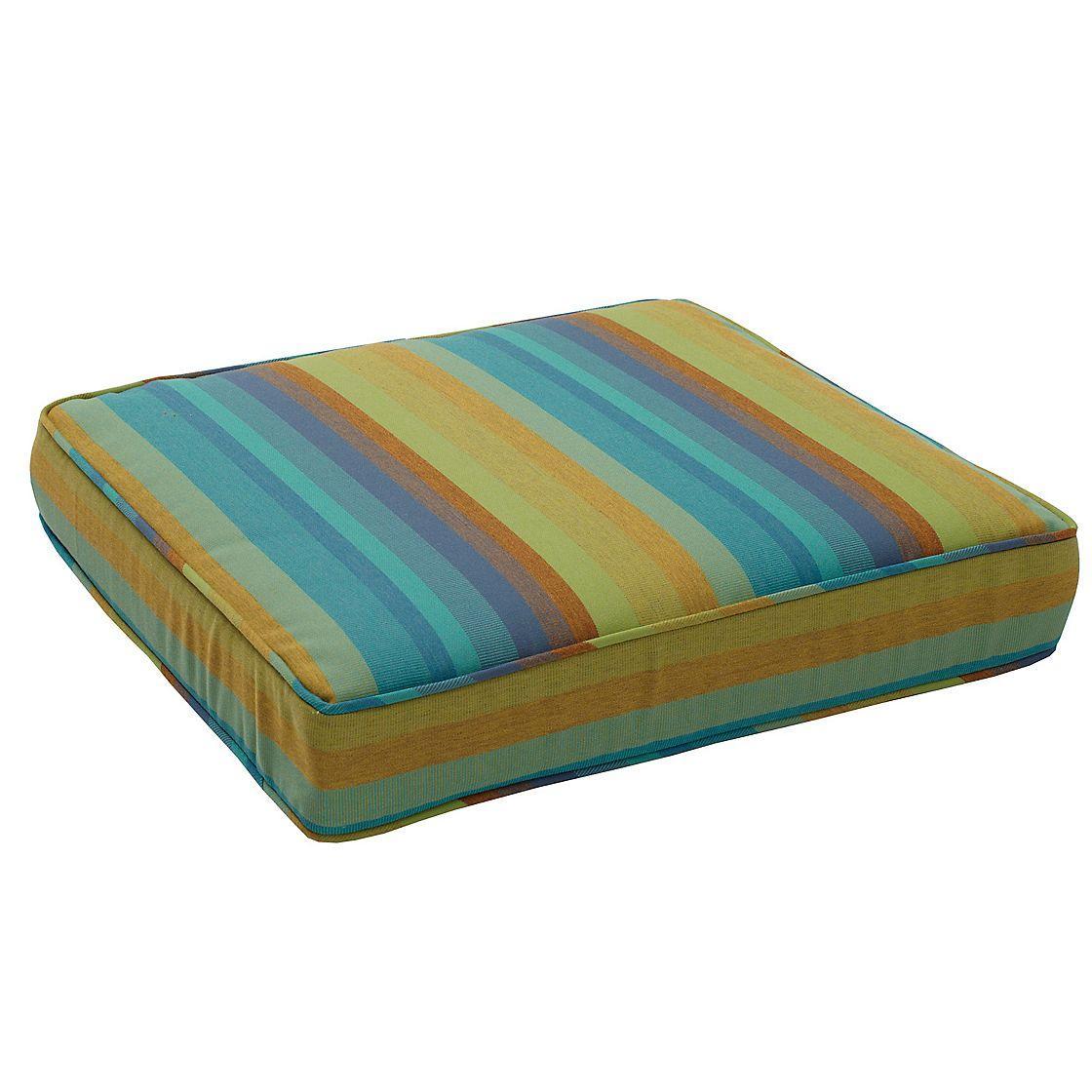 Sunbrella%AE Outdoor Chair Cushion (19x18x3