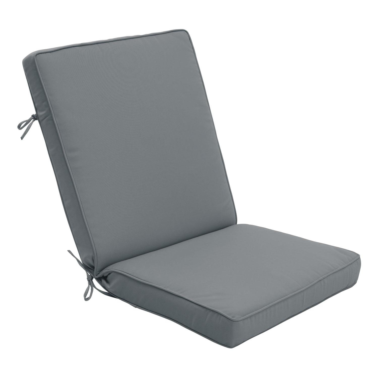 Sunbrella%AE Outdoor Lounge Chair Seat & Back Cushion (44x22x3