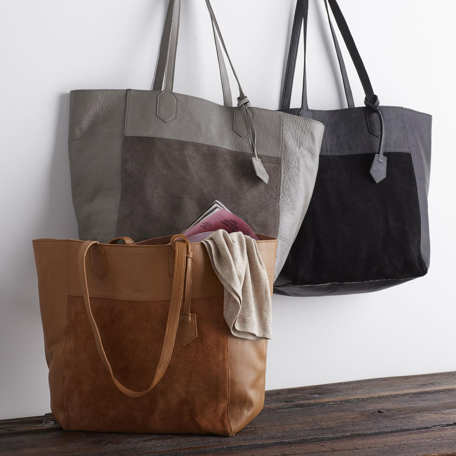 Leather Tote Collection - Shoulder Tote