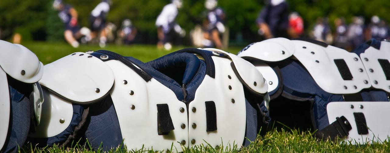 How to fit football shoulder pads