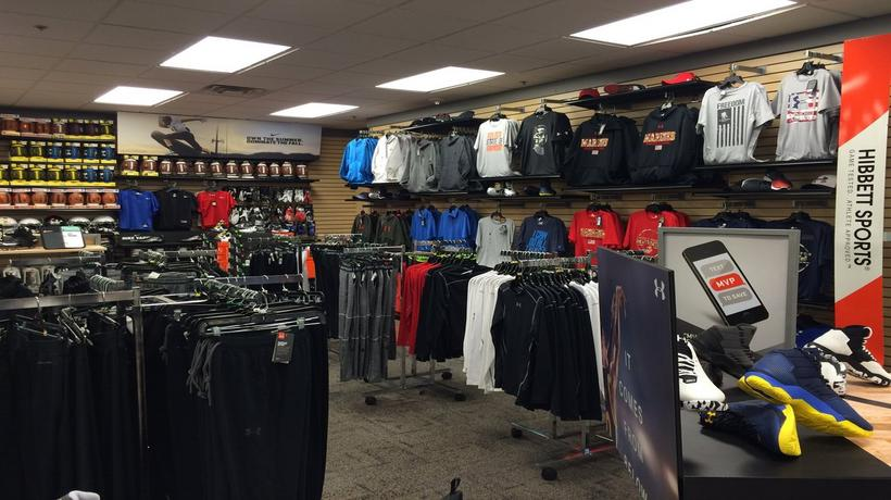 Sporting Goods Stores» Hibbett Sports» SC» Sportswear Stores in Cheraw Hibbett Sports in Cheraw, SC Get the data that you're looking for about the Hibbett Sports locations near Cheraw, SC, including store hours and customer reviews by searching our Cheraw fitness stores directory.