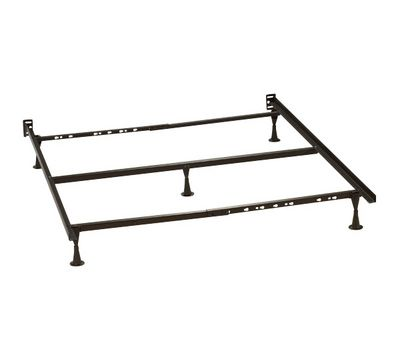 deluxe bed frame with legs queenking