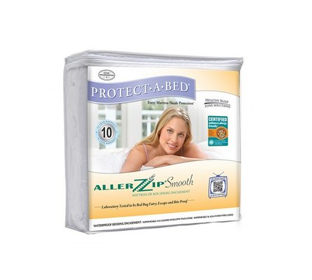 Allerzip Smooth 9 Mattress Pad Twin Xl