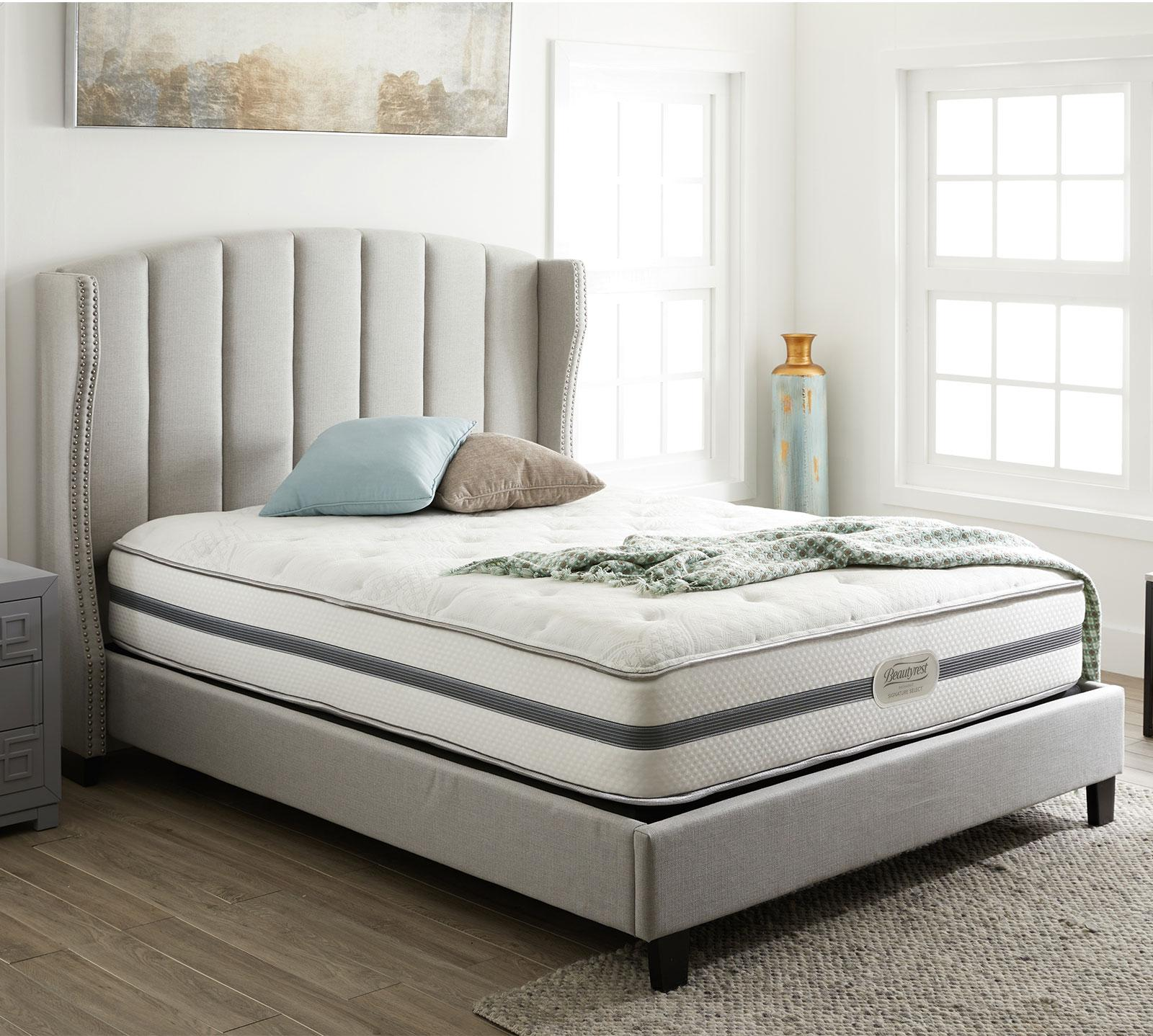 recharge signature select ashaway 11 plush mattress. Black Bedroom Furniture Sets. Home Design Ideas