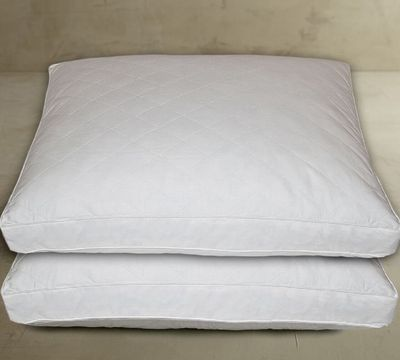 Classic Quilted Feather 2 Pack Pillow