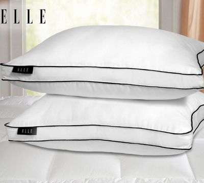 Luxury Elle Down Alternative 2 Pack Pillow
