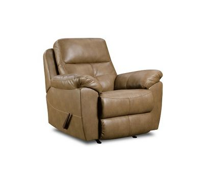 Bradford Bonded Leather Rocker Recliner