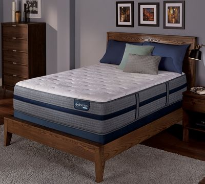 "iSeries Hybrid 300 13.625"" Plush Mattress"