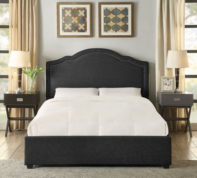 Felicia Upholstered Platform Bed