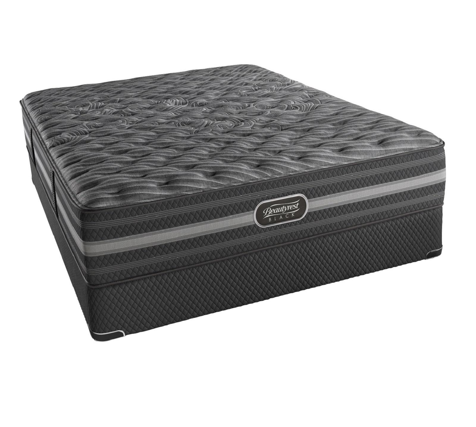 The Beautyrest Black Mariela Extra Firm Mattress is more than a mattress, it's a haven for deep, restorative sleep that inspires your senses. The experience goes beyond mere comfort, it creates a restful escape where sleep is the ultimate luxury. It features Advanced Pocketed Coil® Technology that provides individualized back support, ease of movement, and pressure point relief throughout the night. Its Micro Diamond™ Memory Foam works with the Pocketed Coil® springs to create amazing conforming back support. Micro diamonds in the foam work to conduct heat away from the body to prevent overheating. It also features SurfaceCool™ Plus Fiber, located at the surface of the bed, it is designed to dissipate body heat away from the sleeping surface to help keep you comfortable throughout the night.