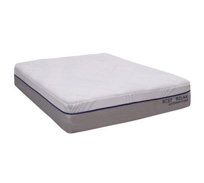 "Victorian 14"" Plush Gel Memory Foam Mattress"