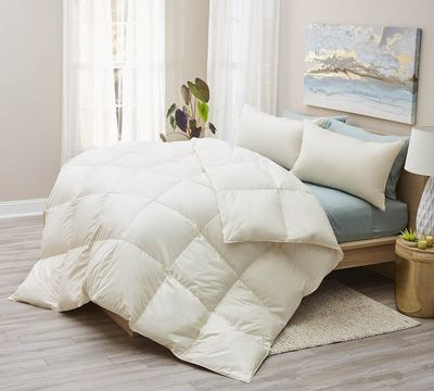 Organic All Season White Down Comforter